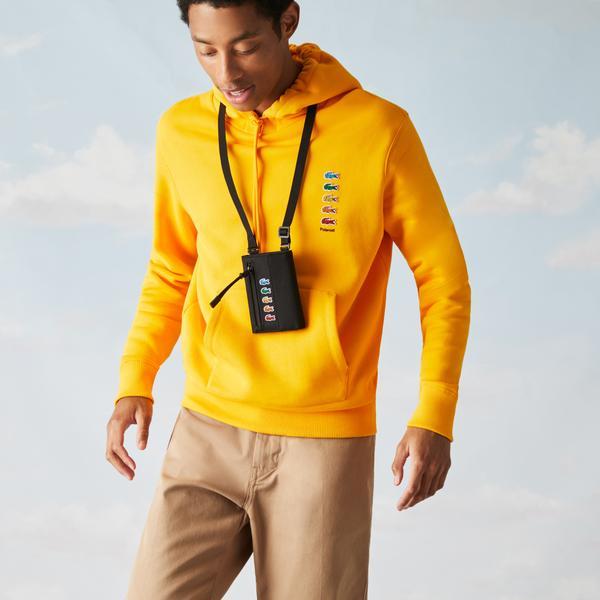 Lacoste гаманець чоловічий x Polaroid