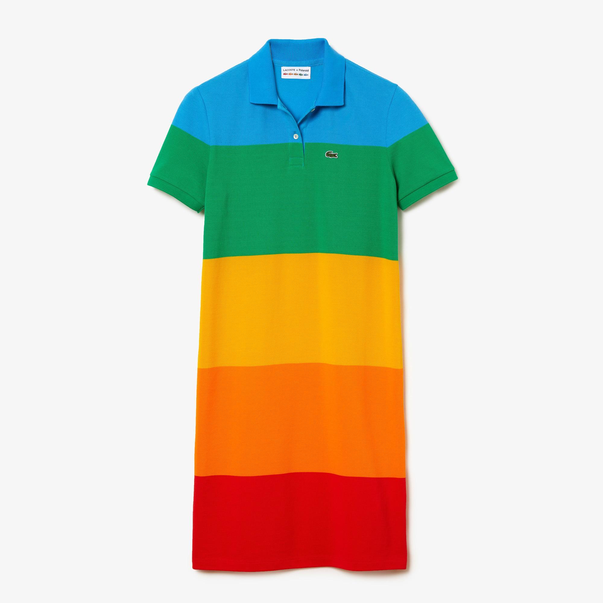 Lacoste сукня жіноча x Polaroid