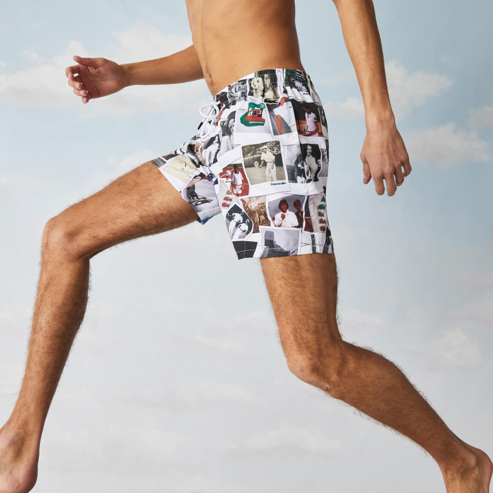 Lacoste шорти для плавання унісекс x Polaroid