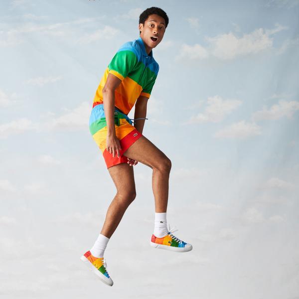 Lacoste шорти для плавання чоловічі x Polaroid