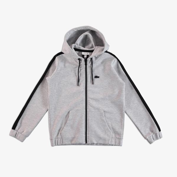 Lacoste Kids Zipper Hooded Sweatshirt