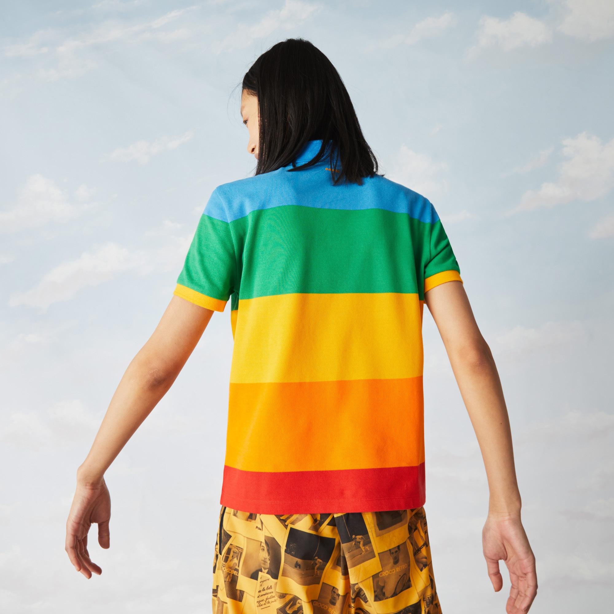 Lacoste поло жіноче x Polaroid стандартний крій
