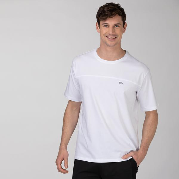 Lacoste Men's Casual Fit Crew Neck Printed T-Shirt
