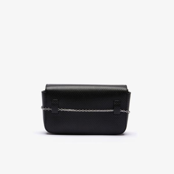 Lacoste Women's Chantaco Piqué Leather Belt Bag