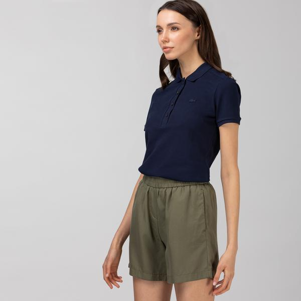 Lacoste Women's Stretch Cotton Piqué Polo