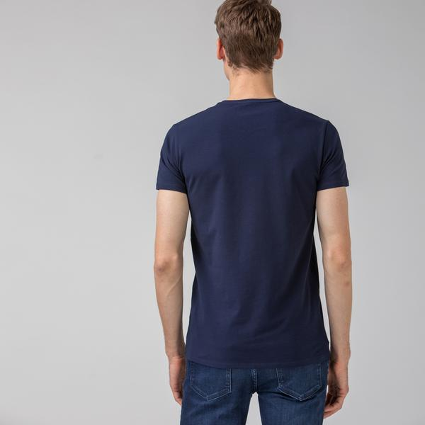Lacoste Men's Round Neck T-Shirt