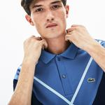 Lacoste Men's Made In France Regular Fit Jacquard Patterned Piqué Polo Shirt
