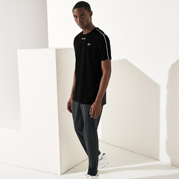Lacoste Men's SPORT Piped Cotton T-Shirt
