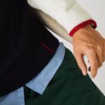 Lacoste кардиган чоловічий Made in France з V-вирізом