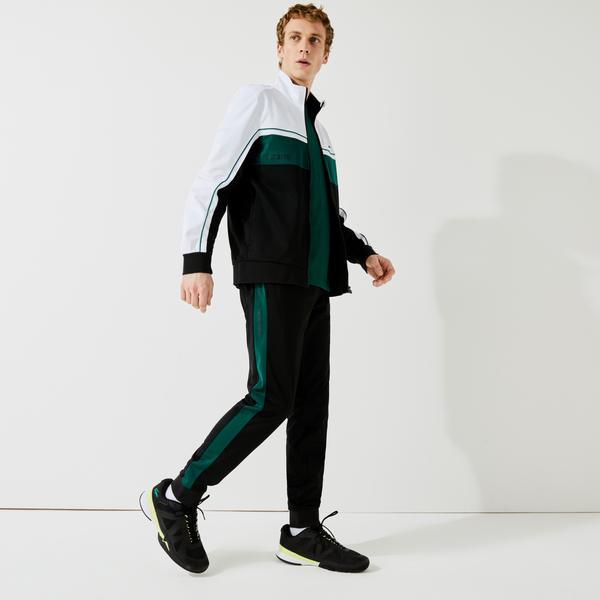 Lacoste Men's SPORT Resistant Piqué Tracksuit Pants
